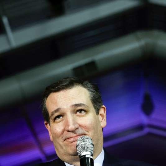 Ted Cruz à Des Moines, le 1er février.