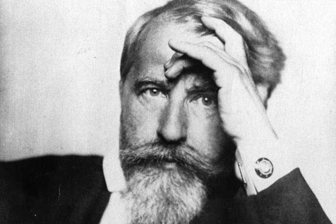 L'écrivain autrichien Arthur Schnitzler, en 1915.
