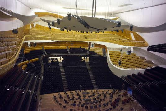 A la Philharmonie de Paris, les supporteurs de foot pourront profiter d'un match commenté par un orchestre.