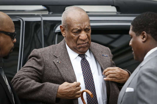 Bill Cosby lors de son arrivée à la cour du comté de Montgomery, à Norristown, en Pennsylvanie, le 3 février.