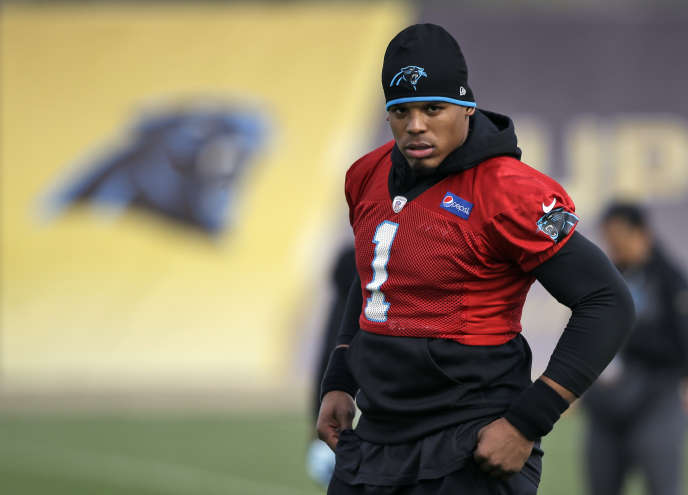 Le quarterback des Carolina Panthers Cam Newton.
