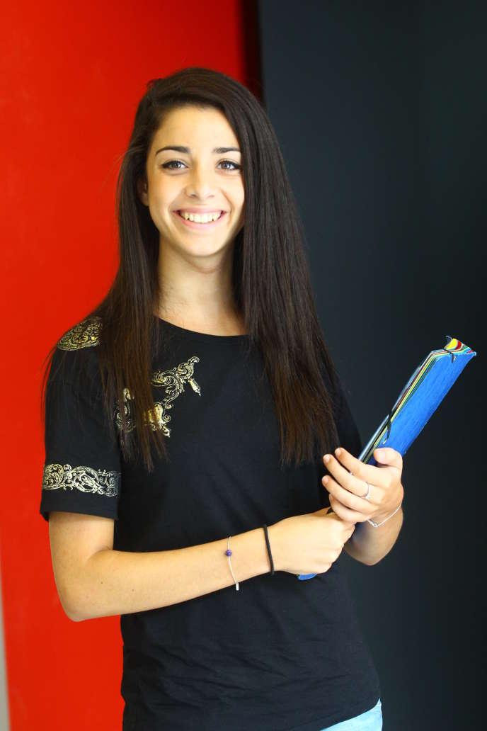 Laura Chiche, 22 ans, a intégré l'Institut des hautes études économiques et commerciales (Inseec) de Paris.
