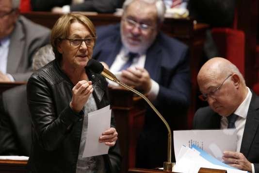 Marylise Lebranchu, à l'Assemblée nationale, le 3 février.