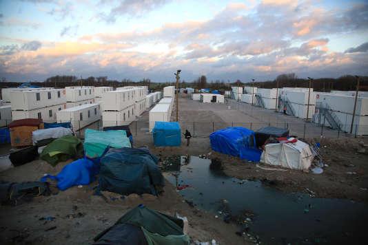 Camp de migrants de Calais, le 3 février.