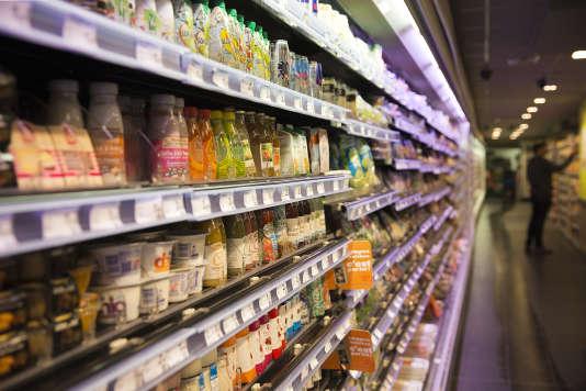 Un supermarché parisien.