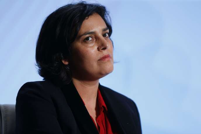 La ministre du travail Myriam El Khomri.