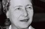 Simone de Beauvoir en 1967.