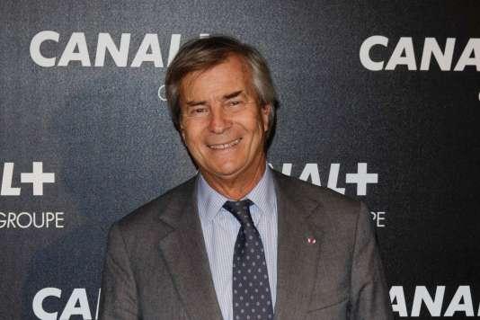 Vincent Bolloré, président du conseil de surveillance de VivendiGEOFFROY VAN DER HASSELT / AFP