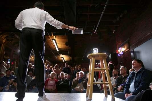 Le sénateur de Floride Marco Rubio, lors d'un meeting à  Dover (New Hampshire), le 3 février.
