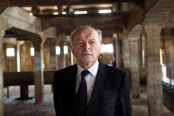 Jacques Toubon à Aix-en-Provence en octobre 2014.