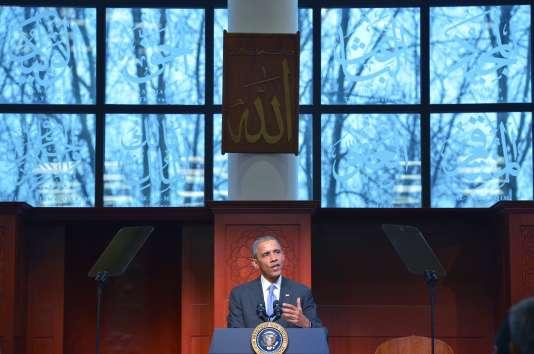 Barack Obama à Windsor Mill dans le Maryland le 3 fevrier 2016.