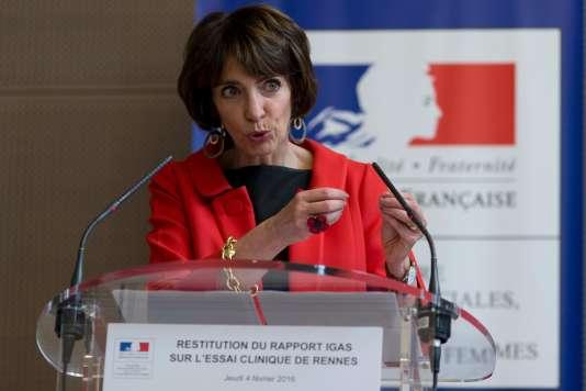 Marisol Touraine, le 4 février à Paris.