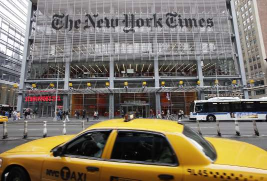 Les locaux du «New York Times», en 2011.