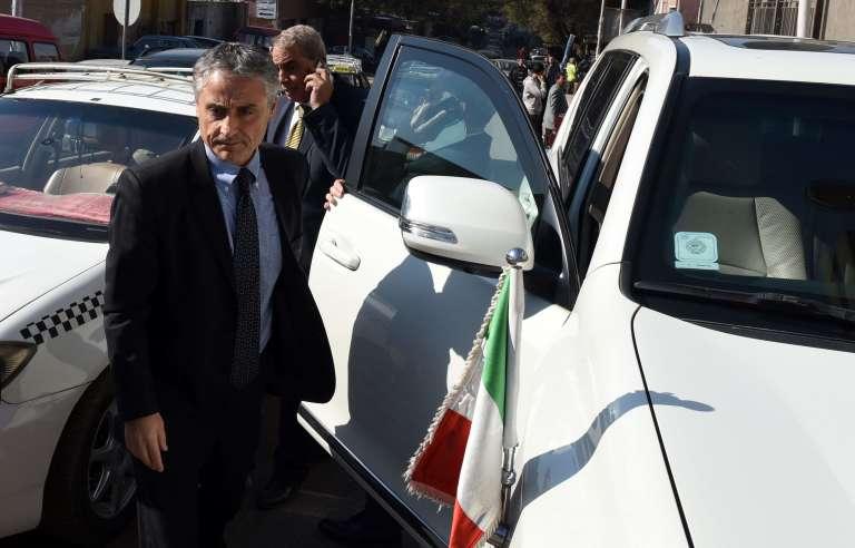 L'ambassadeur d'Italie au Caire s'est rendu à la morgue centrale après qu'a été retrouvé le corps d'un étudiant italien porté disparu depuis dix jours.