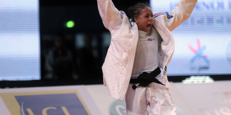 Judo : Amandine Buchard sacrée championne d'Europe en moins de 52 kg