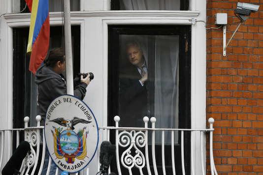 Julian Assange, le 5 février.