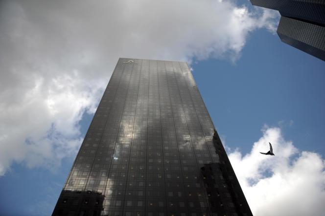 Le siège d'Areva à La Défense, à Paris.