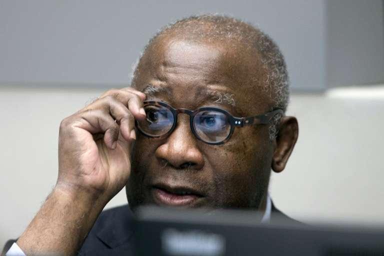 L'ancien président de Côte d'Ivoire au commencement de son procès à la Cour pénale internationale de La Haye, le 28 janvier.