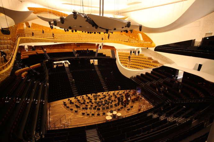 La grande salle de la Philharmonie de Paris.