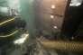 """Fouille de l'épave de la """"Jeanne-Elisabeth"""", par les équipes d'archéologues sous-marin du DRASSM."""