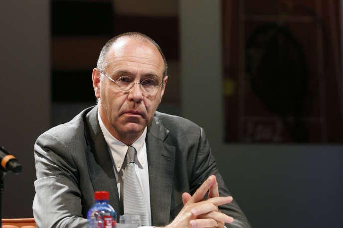 Gilbert Ysern, directeur général de la Fédération française de tennis et directeur de Roland-Garros, démis de ses fonctions jeudi 3février.