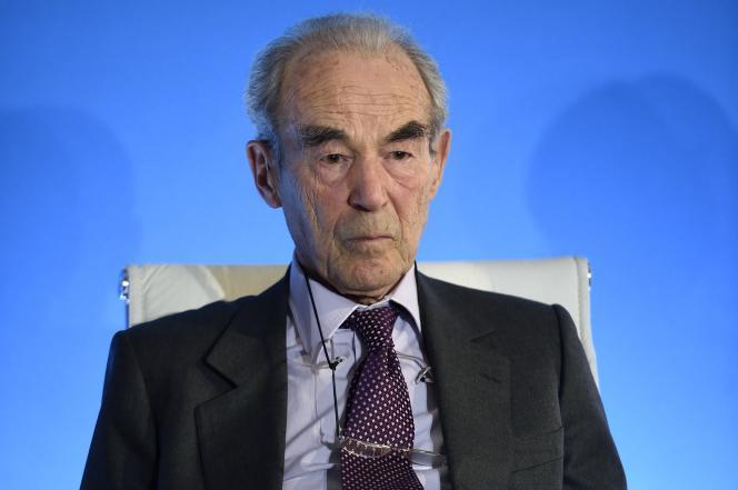Robert Badinter, à Paris, le 25 janvier 2016.