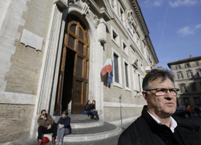 Peter Saunders, victime de pédophilie et membre du groupe d'experts créé par le pape François pour lutter contre ce fléau dans l'Eglise.