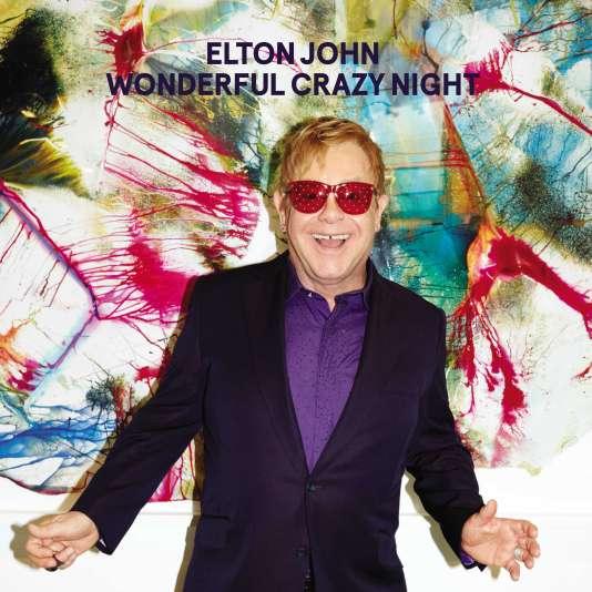 """La couverture de """"Wonderful Crazy Night,"""" d'Elton John."""