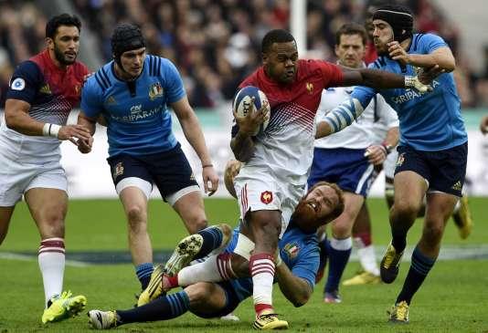 Le spécialiste du rugby à VII Virimi Vakatawa a été précieux au XV de France.