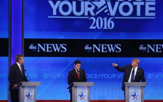 «Marco Rubio est un politicien doué, mais nous avons déjà essayé [un jeune sénateur] avec Barack Obama», a lancé l'ancien gouverneur de Floride Jeb Bush.