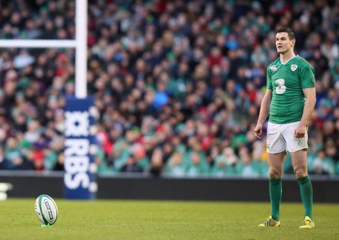 Johnny Sexton, le 7 février 2016, à Dublin.