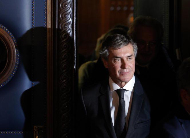 Jérôme Cahuzac à son procès, au palais de justice de Paris, le 8 février.