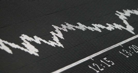 La Bourse de Francfort a clôturé à –3,30 %, lundi soir.