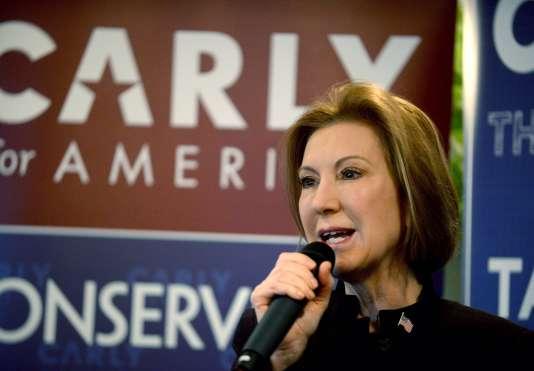 Carly Fiorina avait suscité un bref enthousiasme en septembre après une bonne série de débats télévisés qui avait dopé sa notoriété nationale.