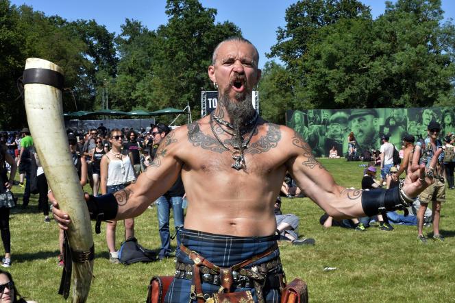 Au festival Hellfest, à Clisson, Loire-Atlantique, en 2015.