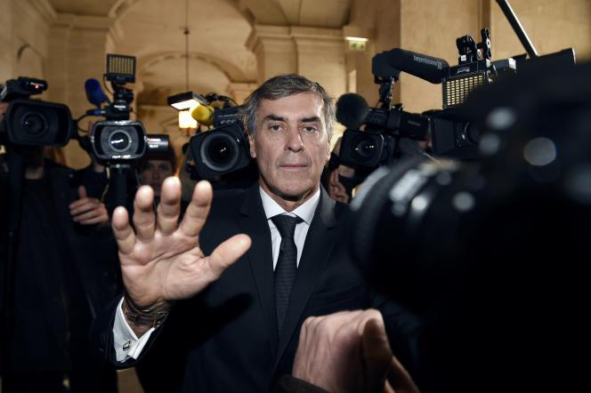 Jérôme Cahuzac, lors du premier jour de son procès, le 8 février 2016.
