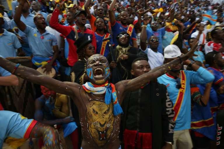 Dans le stade de Kigali où s'est déroulé la finale du Chan, dimanche 7 février.