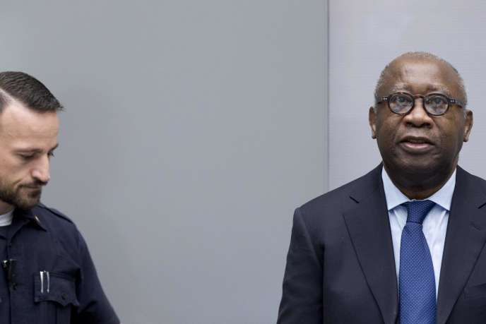 Laurent Gbagbo, devant la Cour pénale internationale le 8 février.