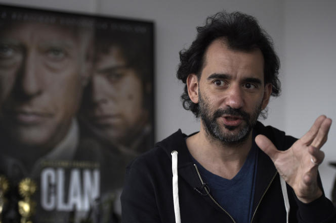 Le réalisateur argentin Pablo Trapero à Buenos Aires, le 26 août 2015.