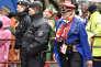 De nombreux policiers ont été déployés pendant les six jours du carnaval de Cologne.