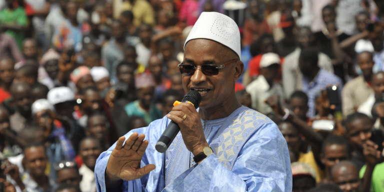 Cellou Dalein Diallo, le 19 avril 2015, à Conakry.