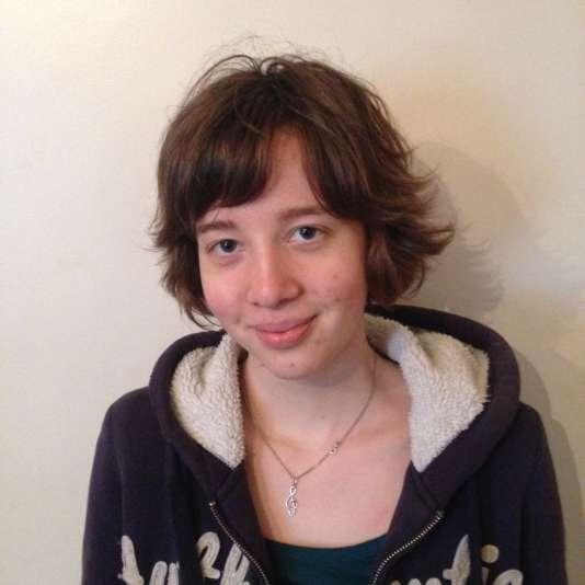 Laura Weiss ,21 ans, élève de l'Institut technologique européen des métiers de la musique (Itemm) du Mans.