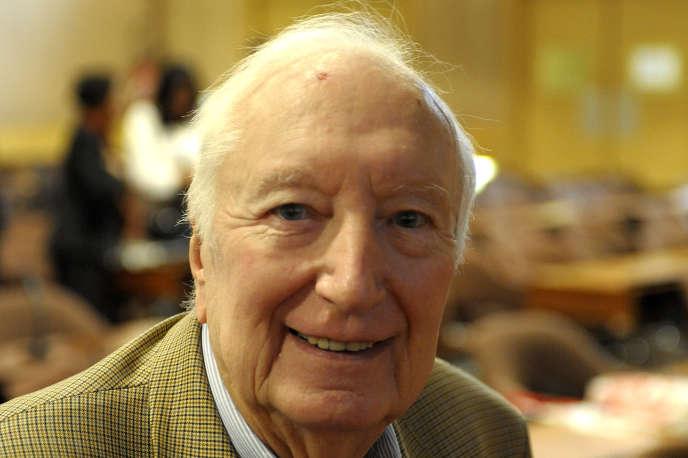 Gaston Mialaret, en 2011.