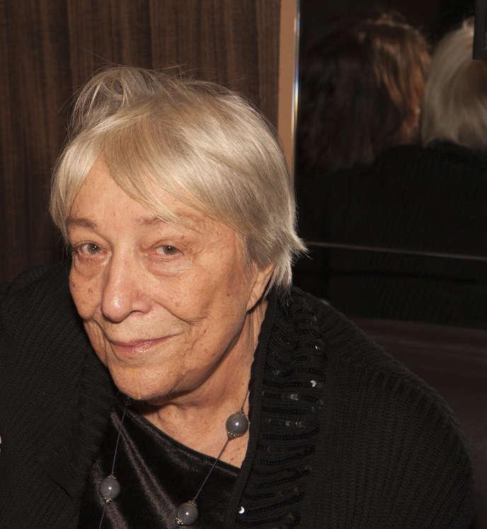 Monique Nemer, le 23 janvier 2016.