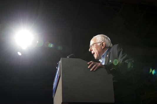 Bernie Sanders à l'université du New Hampshire à Durham, le 8 février.
