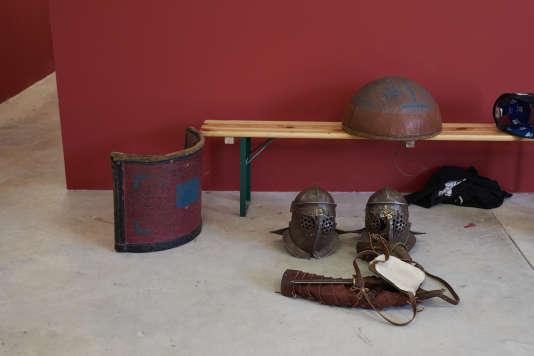 Quelques pièces de l'équipement des gladiateurs.