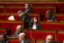 Pascal Cherki, Cécile Duflot, Sergio Coronado et Noel Mamère participent au débat sur l'état d'urgence et la révision constitutionnelle à l'Assemblée nationale à Paris le 8 février 2016.