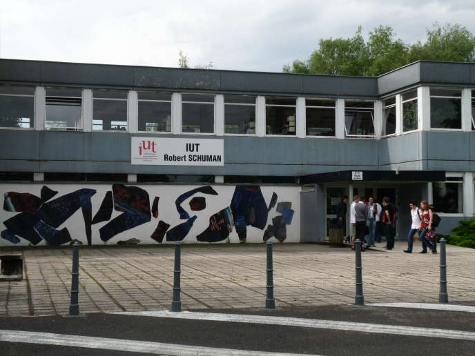 L'IUT Robert-Schuman, à Strasbourg.