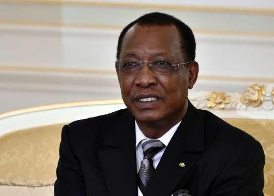 Le président Idriss Déby, à N'Djamena, en novembre 2014.