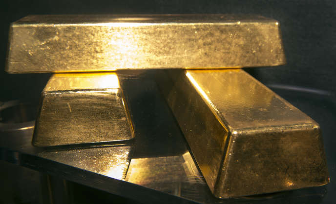 L'or gagne plus de 16 % depuis le 1er janvier, à 1 241 dollars l'once.